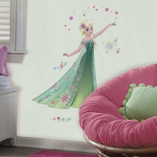Afbeelding van Muursticker Frozen Fever RoomMates: Elsa