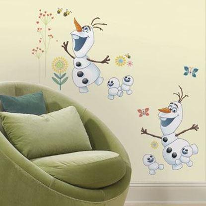 Afbeeldingen van Muursticker Frozen Fever RoomMates: Olaf
