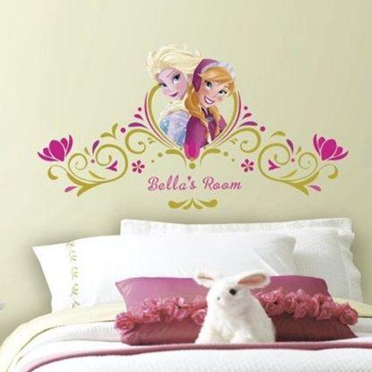 Afbeeldingen van Muursticker Frozen RoomMates: ABC