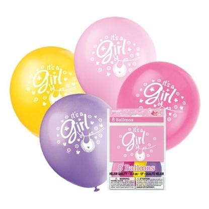 Afbeeldingen van Ballonnen it's a Girl