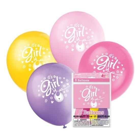 Afbeelding van Ballonnen it's a Girl