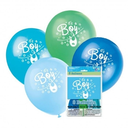 Afbeeldingen van Ballonnen it's a Boy