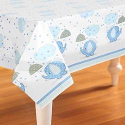 Afbeelding van Babyshower tafelkleed Oliant Blauw