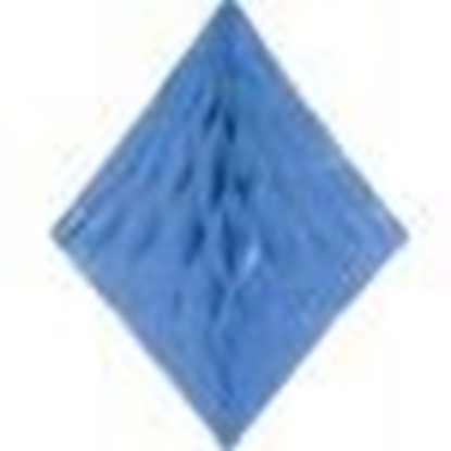 Afbeeldingen van Babyshower honeycomb diamant Blauw