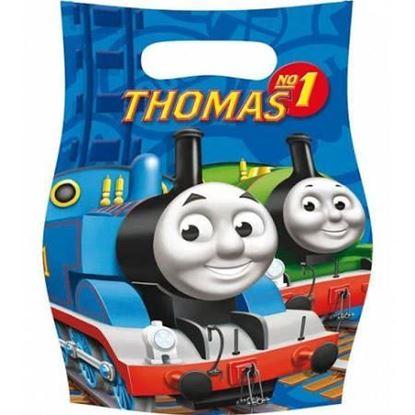 Afbeeldingen van Thomas de trein Uitdeelzakjes blauw