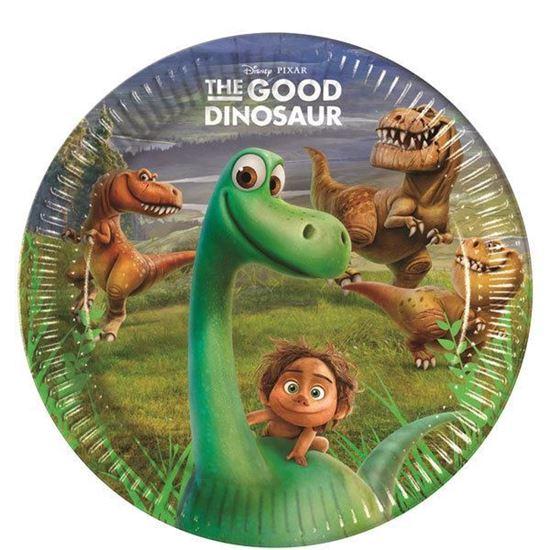 Afbeelding van Bordjes 19,5cm 8 st. The Good Dinosaur