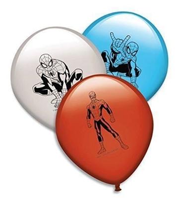 Afbeeldingen van Spiderman ballonnen 8 stuks