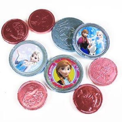 Afbeeldingen van Disney Frozen Chocolade munten
