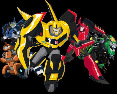Afbeelding voor categorie Transformers