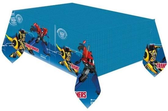 Afbeelding van Tafelkleed Transformers 120x180 cm