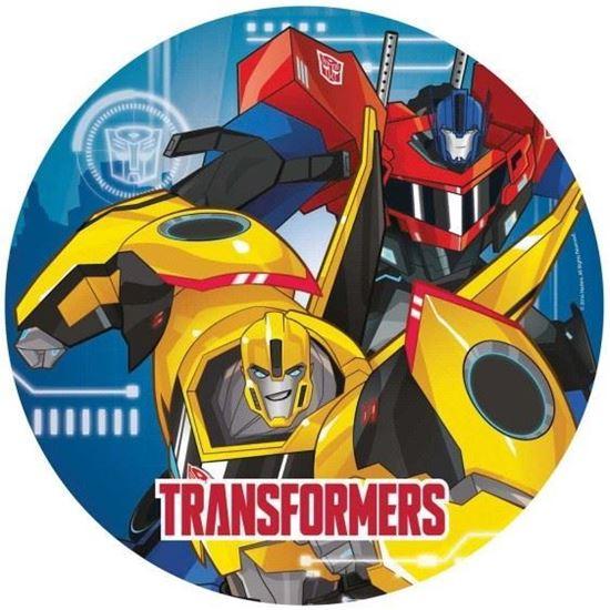 Afbeelding van Bordjes 23cm Transformers 8 stuks