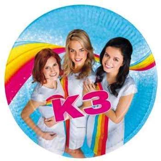 Afbeelding van K3 bordjes