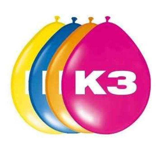 Afbeelding van K3 ballonnen  8 stuks