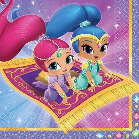 Afbeelding van Shimmer and Shine servetten
