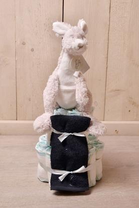 Afbeeldingen van Luiertaart kangaroe Kayo Happy Horse
