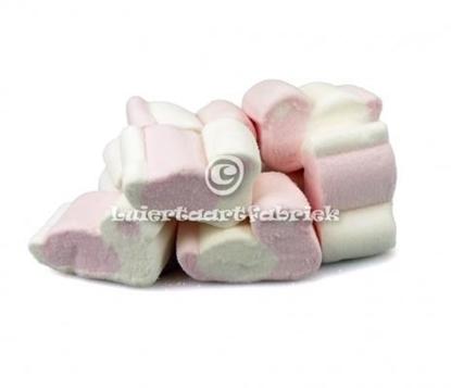 Afbeeldingen van Spek eend roze/wit