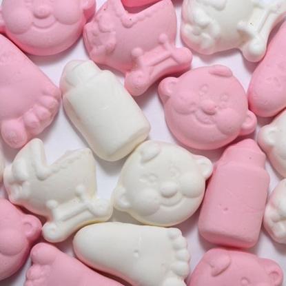 Afbeeldingen van Baby mix schuim roze