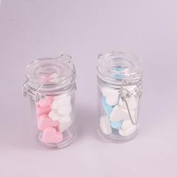 Afbeelding van Weckpot van glas met ijzersluiting