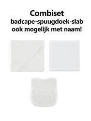 Afbeelding van Combipakket Badcape-spuugdoek-slab