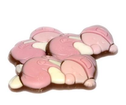Afbeeldingen van Choco babies melk wit/roze
