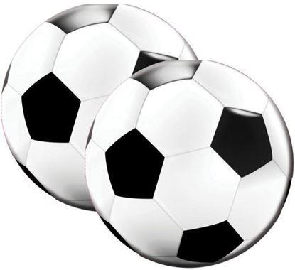 Afbeeldingen van Servetten voetbal 20 stuks