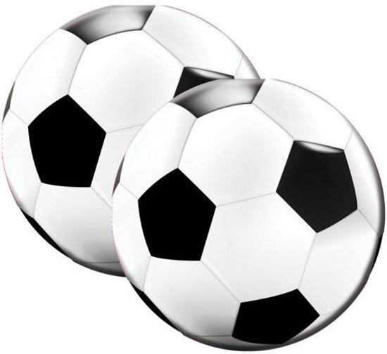 Afbeelding van Servetten voetbal 20 stuks