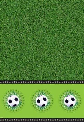 Afbeeldingen van Tafelkleed voetbal 130x180cm