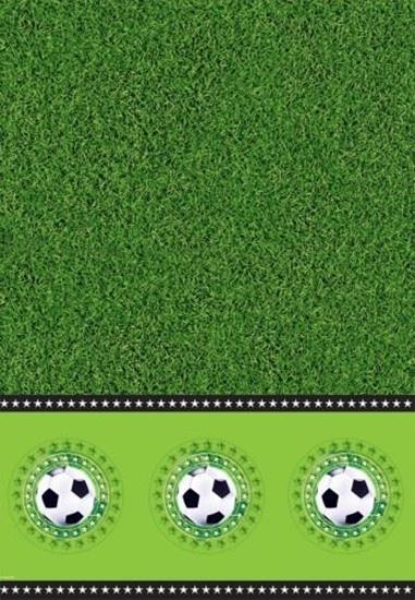 Afbeelding van Tafelkleed voetbal 130x180cm