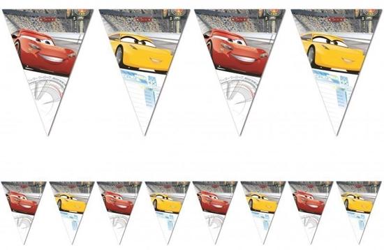 Afbeelding van Cars vlaggenlijn 2,3 meter