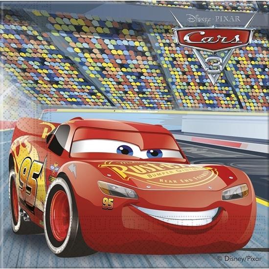 Afbeelding van Cars servetten 33x33 cm 20 stuks