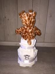 Afbeelding van Luiertaart Giraf klein SS