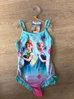 Afbeeldingen van Disney Frozen Badpak Anna/Elsa blauw/roze