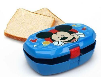 Afbeeldingen van Lunchbox Mickey Mouse blauw