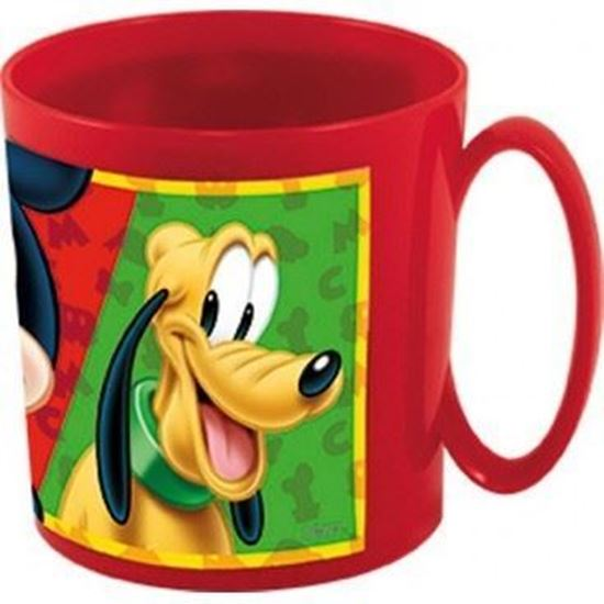 Afbeelding van Plastic beker met oor Mickey
