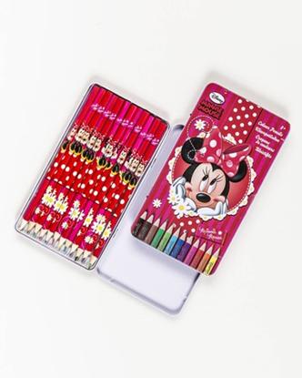 Afbeeldingen van Kleurpotloden Minnie Mouse 12 stuks