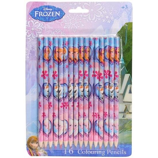 Afbeelding van Disney Frozen 16 stuks kleurpotloden