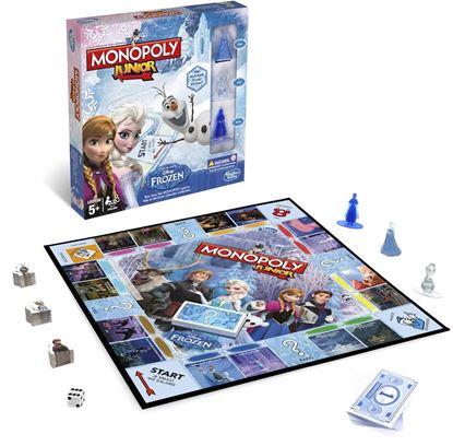 Afbeeldingen van Disney Frozen Monopoly Junior