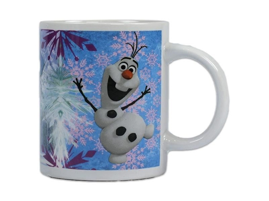 Afbeelding van Disney Frozen ceramic mok Olaf, Anna en Elsa