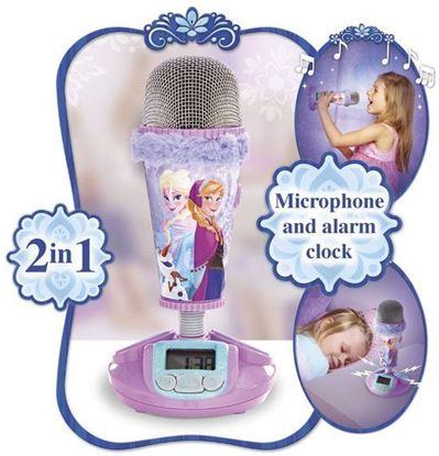 Afbeeldingen van Disney Frozen Microphone - Wekker - Paars