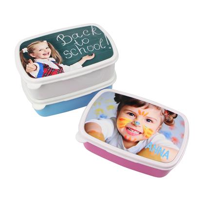 Afbeeldingen van Lunchbox bedrukt na wens