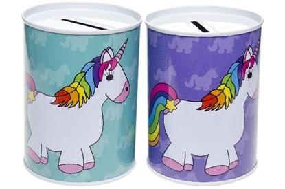 Afbeeldingen van Unicorn spaarpot 10 cm