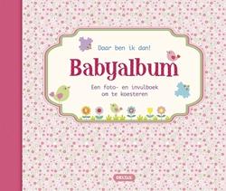 Afbeelding van Babyalbum daar ben ik dan