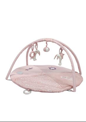 Afbeeldingen van Little Dutch speelkleed rond konijn roze