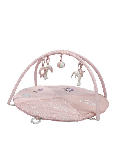 Afbeelding van Little Dutch speelkleed rond konijn roze