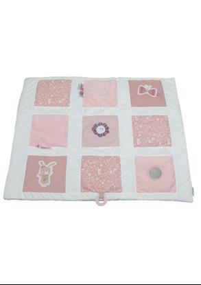 Afbeeldingen van Little Dutch boxkleed 85x100 cm adventure roze
