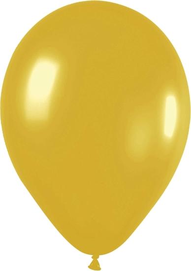 Afbeelding van Ballon goud (10 stuks)