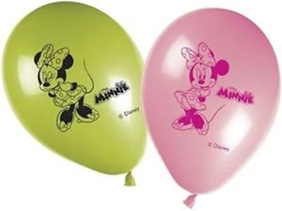 Afbeelding van Ballonnen Minnie Mouse 8 stuks