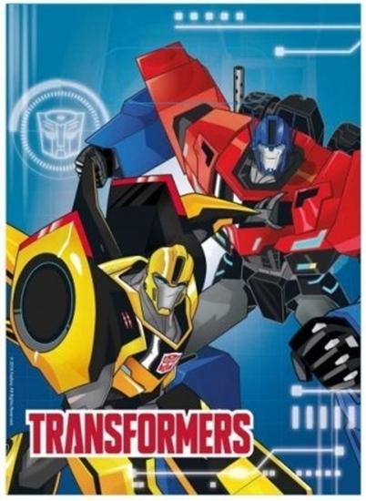 Afbeelding van Uitdeelzakjes Transformers 8 stuks