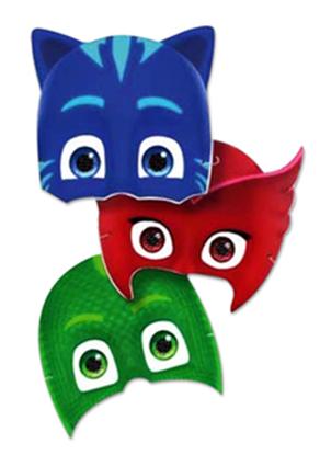 Afbeeldingen van PJ Masks maskers