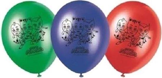 Afbeelding van PJ Masks ballonnen 8 stuks